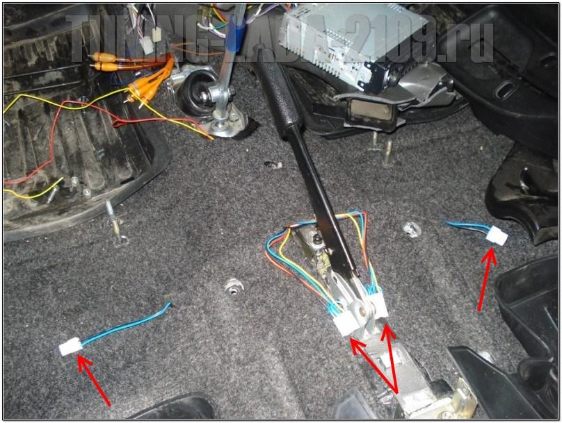 obogrev sideniy 04 - Электросхема подогрева сидений ваз 2110