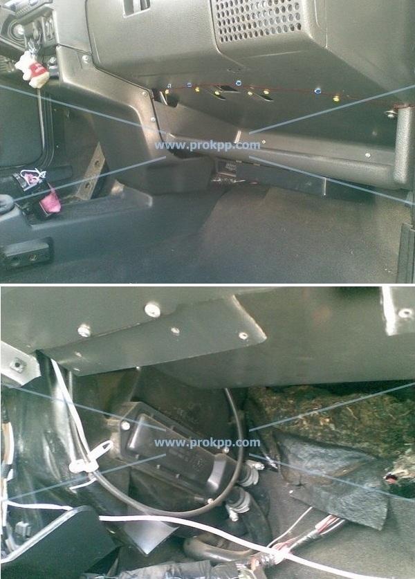 Замена радиатора печки без снятия панели