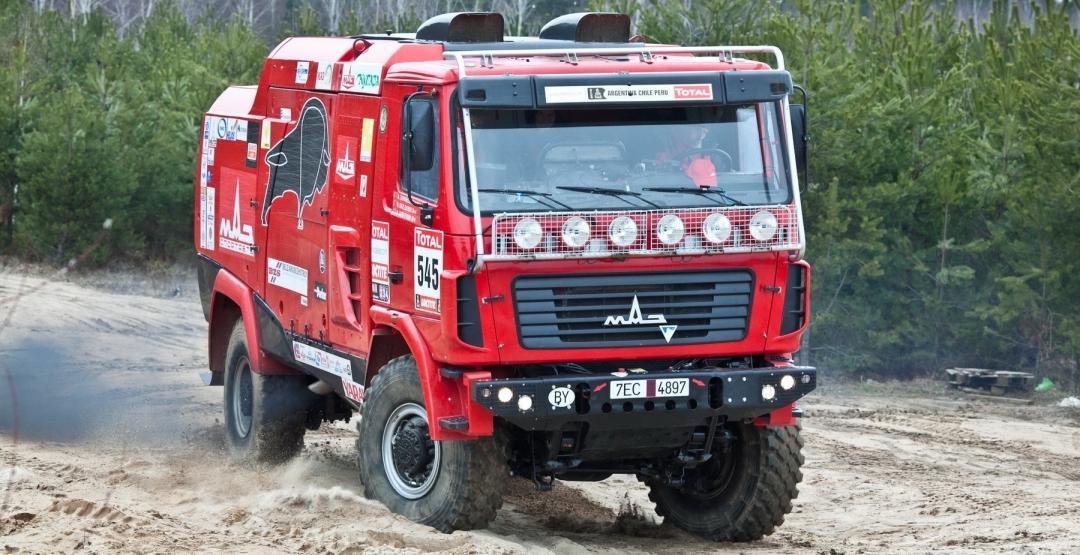 Компания МАЗ планирует продажу спортивных грузовиков