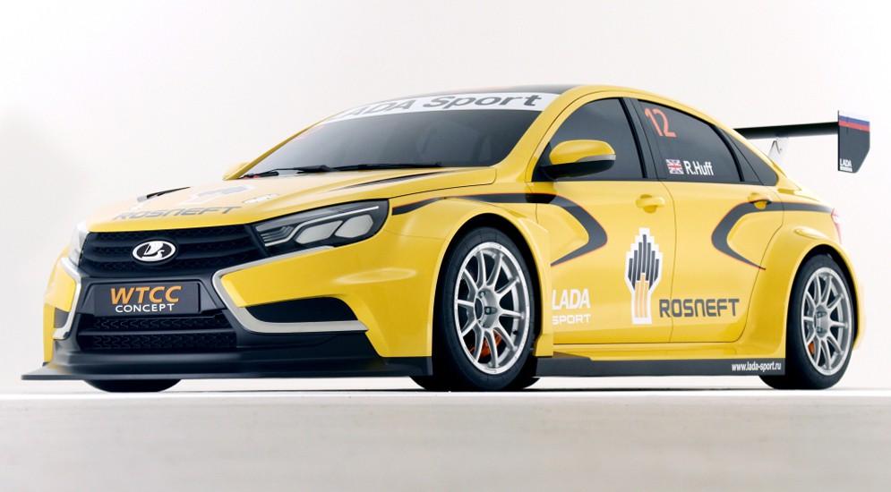 Автомобиль Vesta TC1 от бренда Lada находится на испытаниях