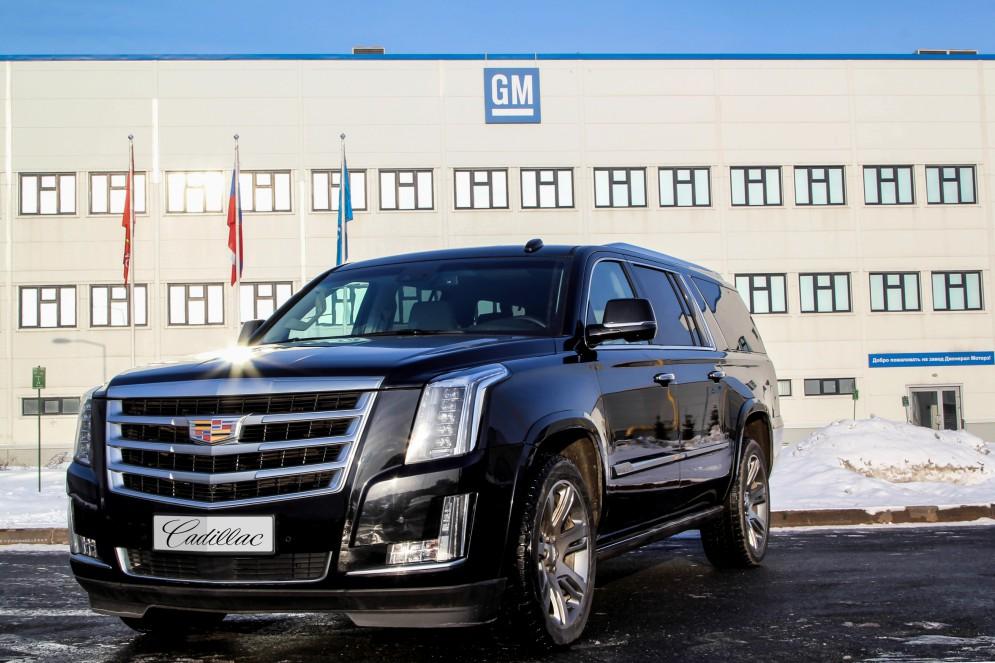 Cadillac Escalade теперь производится и в России