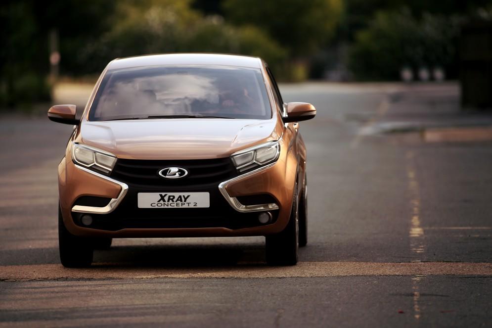 Новая информация о долгожданной Lada XRay