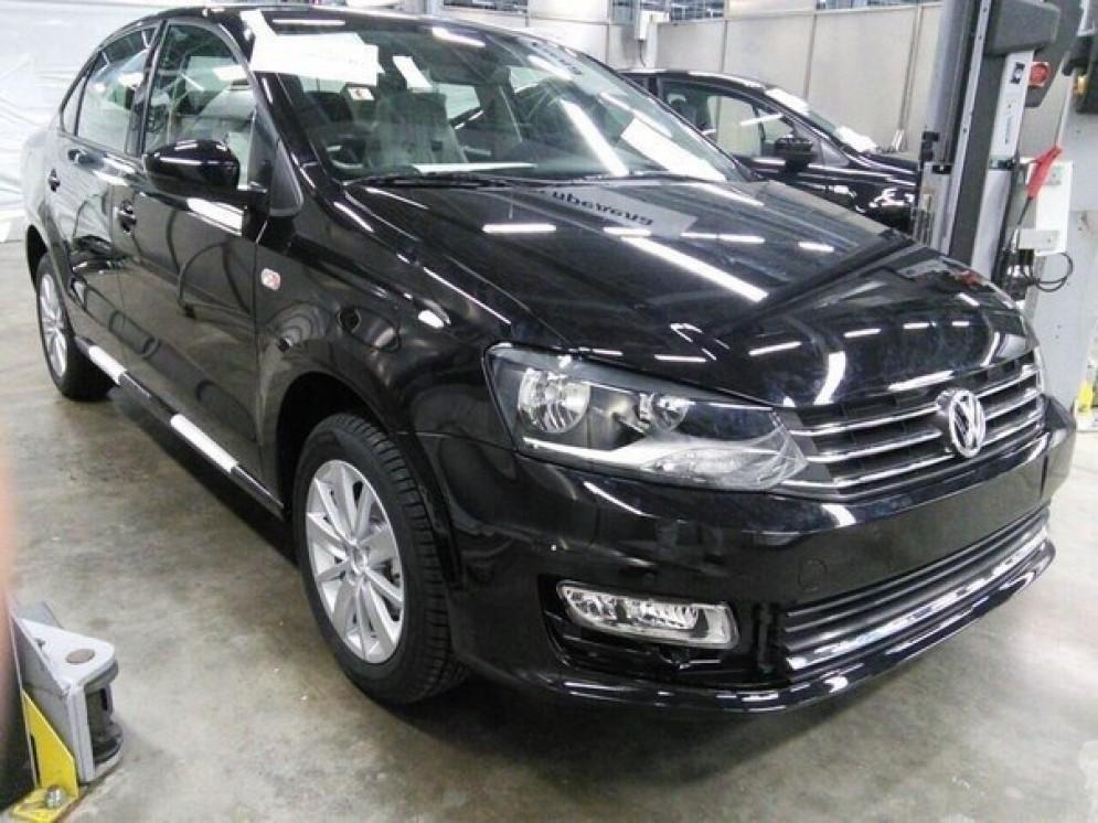 Новенький Volkswagen Polo показался в интернете