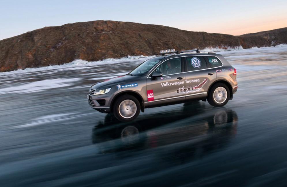 Volkswagen Touareg помог установить новый рекорд