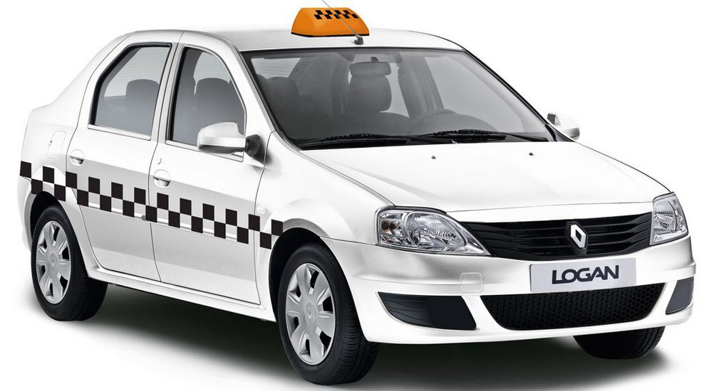 Renault Logan такси