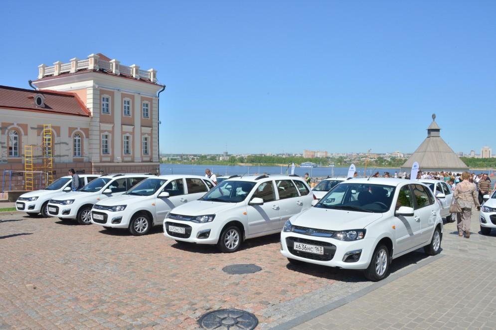 Компания АвтоВАЗ организовывает пресс-парк