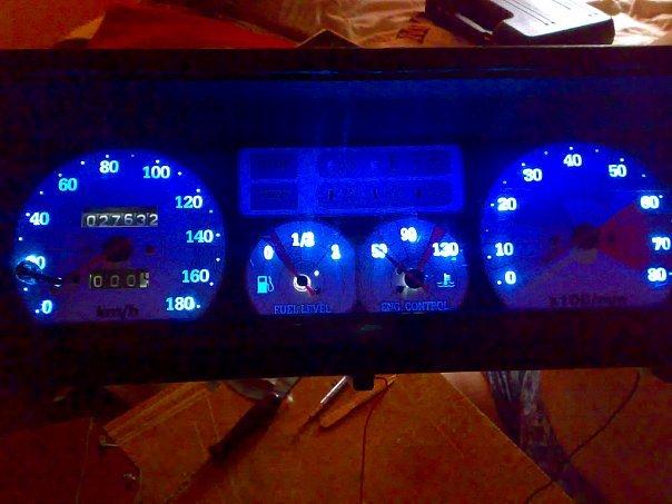 Варианты тюнинга приборной панели ВАЗ 2109
