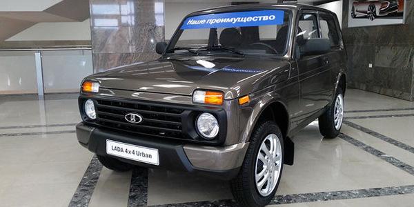 Старт начала производства Lada 4×4 Urban намечен на 20 апреля