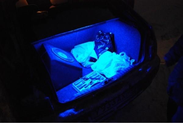 Установка светодиодной подсветки в багажник ВАЗ-2109 (со схемой подключения)