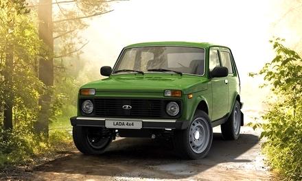 Lada 4×4 Elbrus Edition оливковый