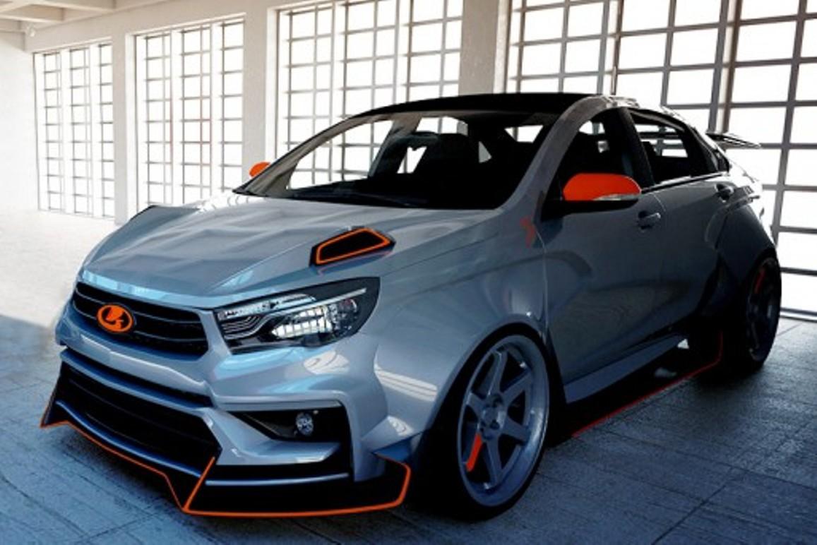 Lada Vesta «примерила» новые стилистические образы
