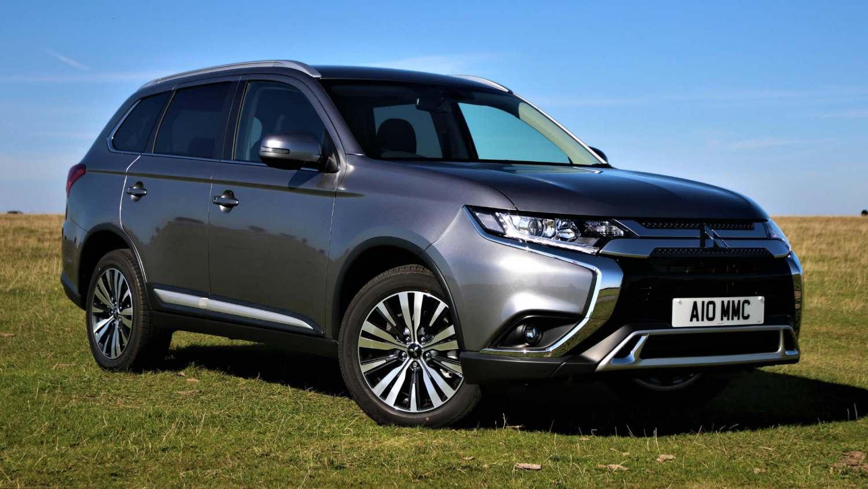 обновленный Mitsubishi Outlander 2020 года