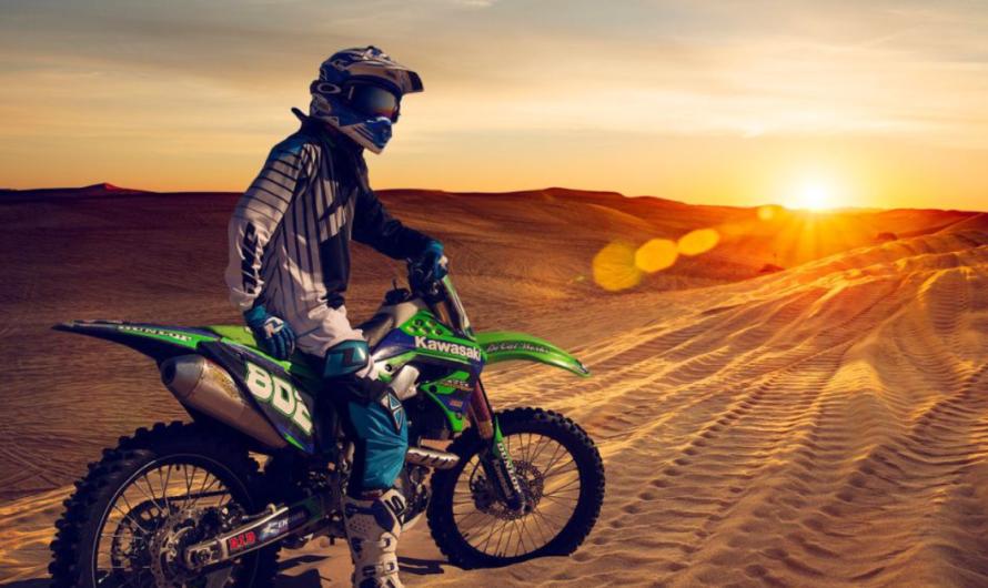 Кроссовый мотоцикл – новация в мире спорта