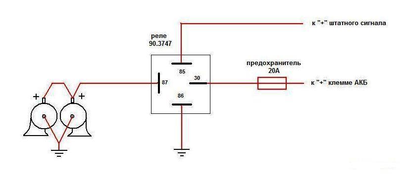 predmeste: электрические схемы сигнала на ваз 2109.
