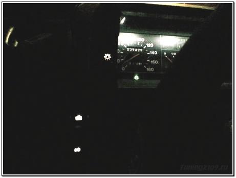 Кнопки в темноте