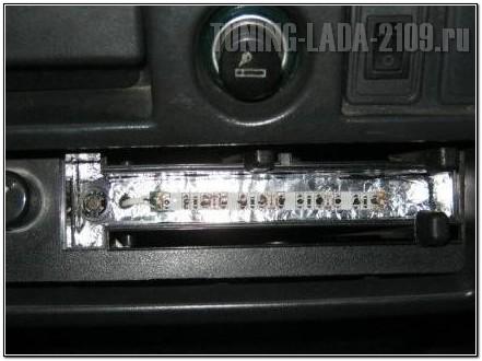 Светодиодная лента для подсветки отопителя