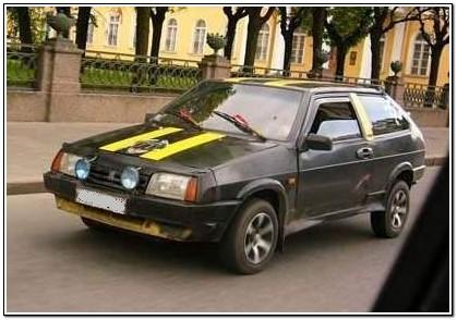 Антитюнинг ВАЗ 2108
