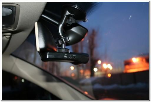Пример установки видеорегистратора на автомобиль