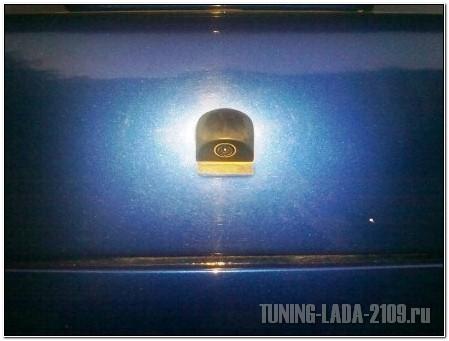 Камера заднего вида на ВАЗ 2115