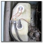Подогрев жидкости в бачке омывателя ВАЗ 2109