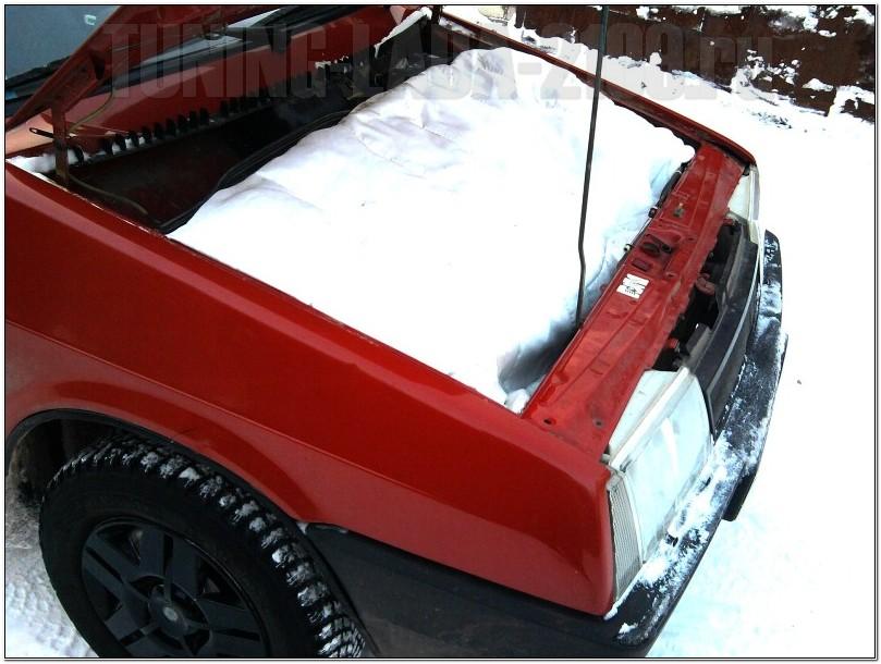 Одеяло для двигателя в моторном отсеке ВАЗ 2109