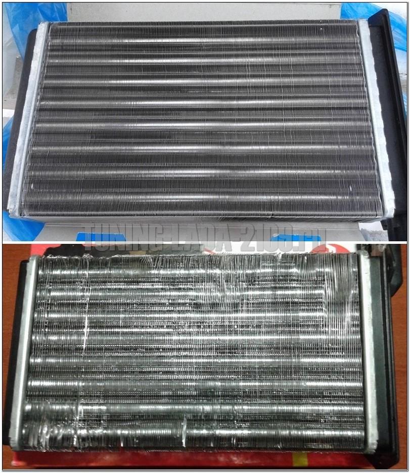 Сравнение радиаторов печки