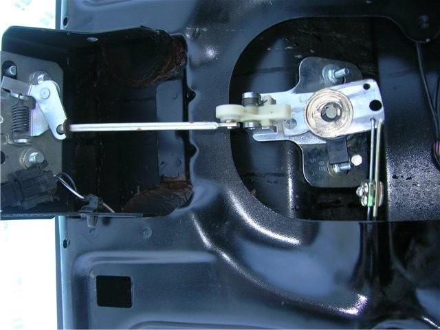 Электропривод замка багажника