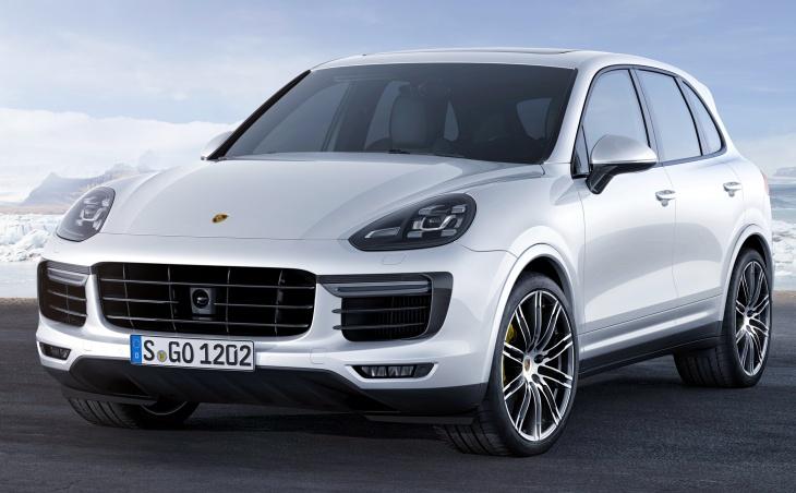 Российский рынок пополнился новым Porsche Cayenne