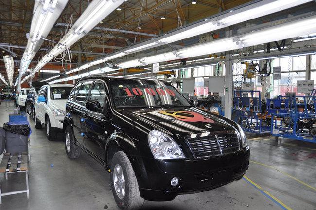 Автокомпания Sollers снизила свое производство