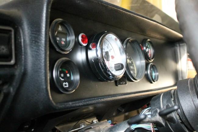Приборы контроля работы двигателя