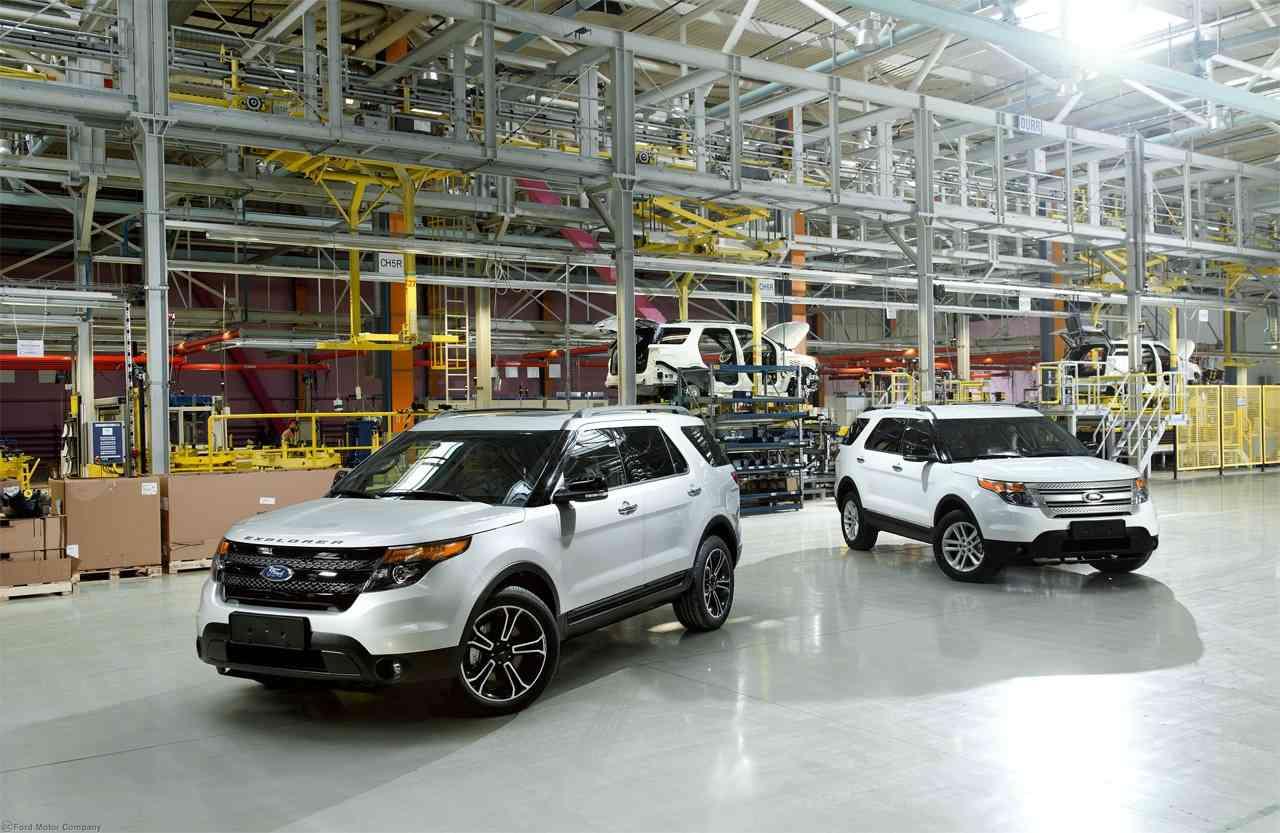 Официальный веб-сайт Ford в России