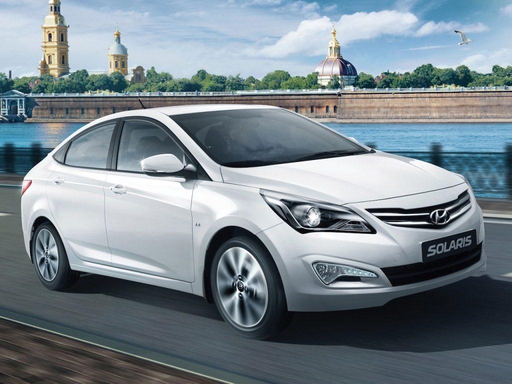 Российские цены на автомобили марки Hyundai