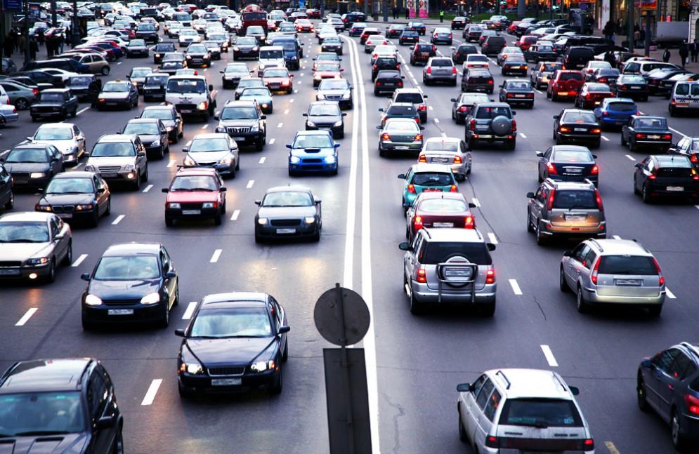 Рейтинг регионов по количеству зарегистрированных автомобилей