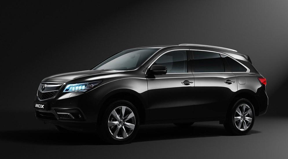 Продажи автомобиля Acura MDX