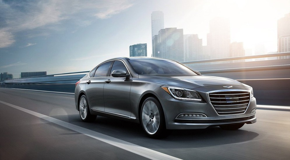 В России доступны новые комплектации известного Hyundai Genesis
