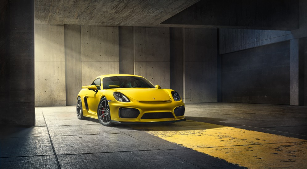Российская стоимость новейшего Porsche Cayman GT4