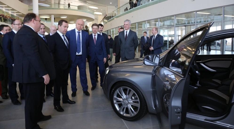 Lada Дмитрий Медведев