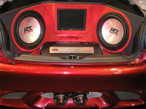 Аудиосистема в автомобиле