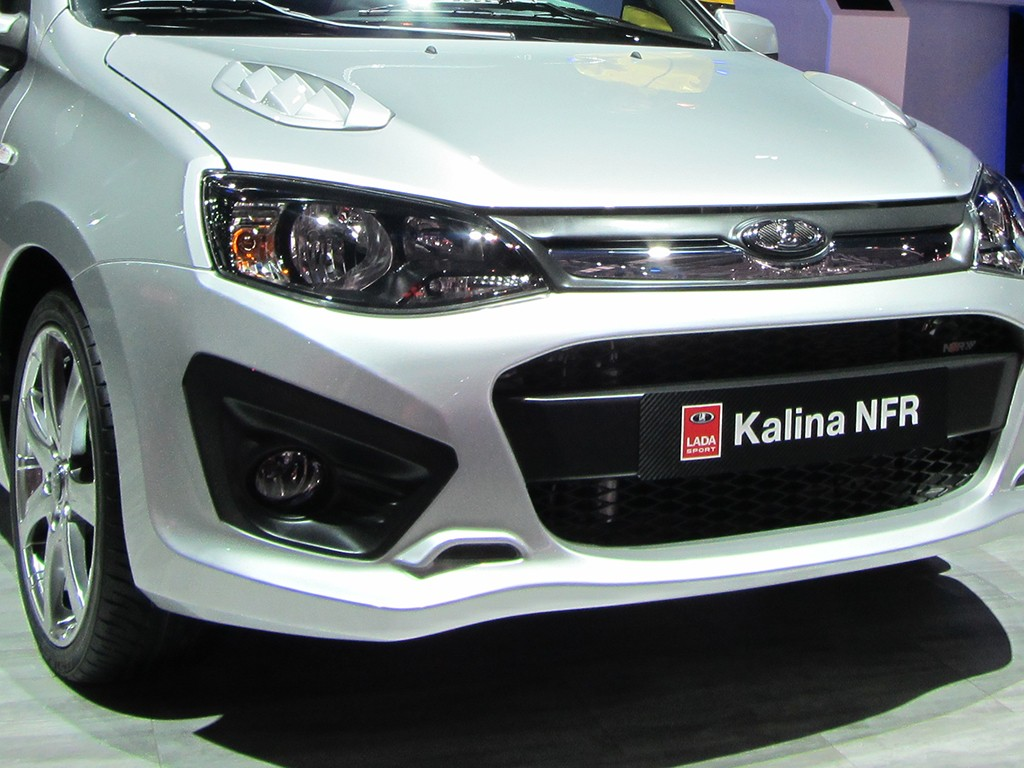 Lada Kalina NFR: продажи в России