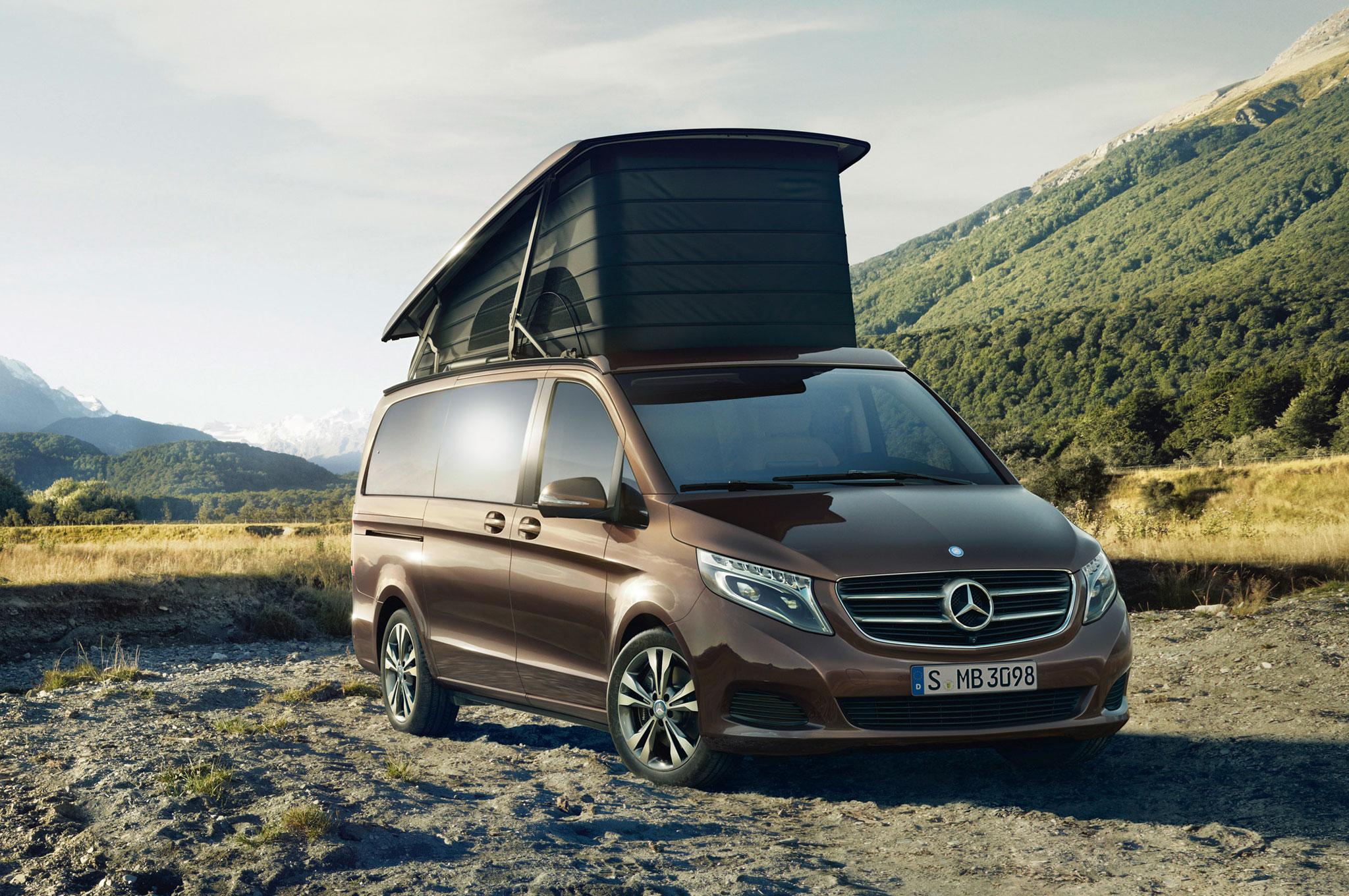 В России можно купить «дом на колесах» от компании Mercedes-Benz