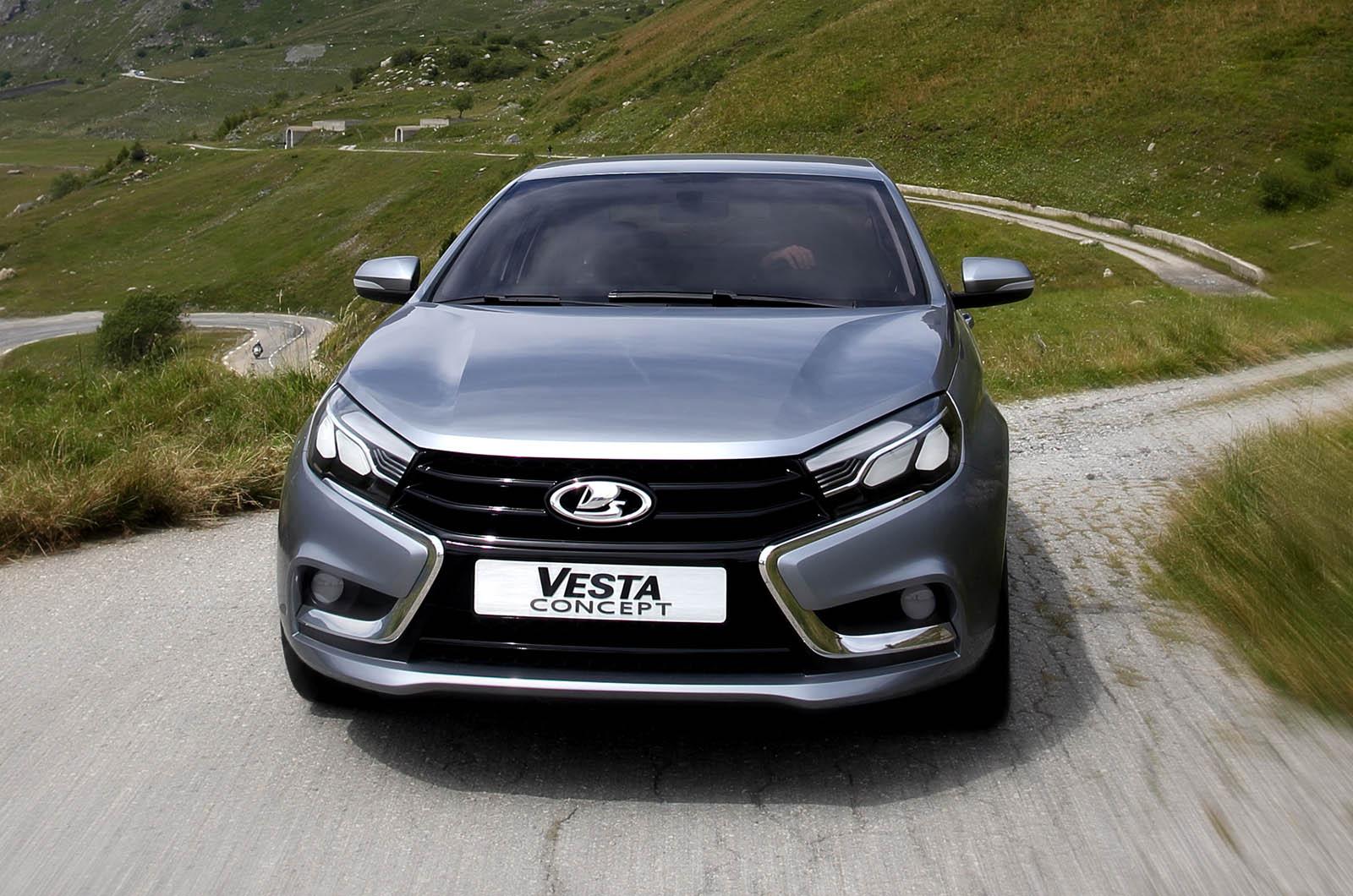 Lada Vesta: выбор цвета