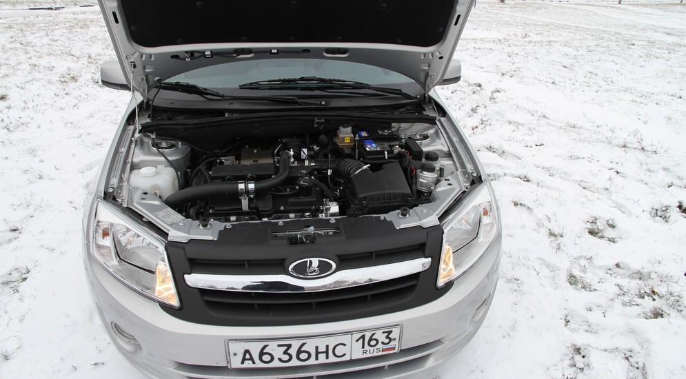 Новые известия о гибридной версии модели Lada Granta