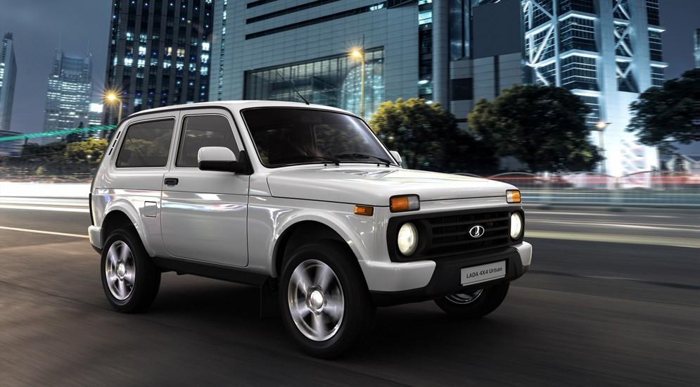 Lada 4×4 борется за лидерство в продажах