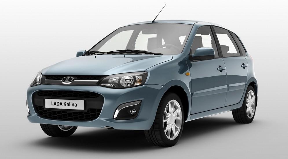 Дилеры скоро начнут продажи Lada Kalina с новым навигатором