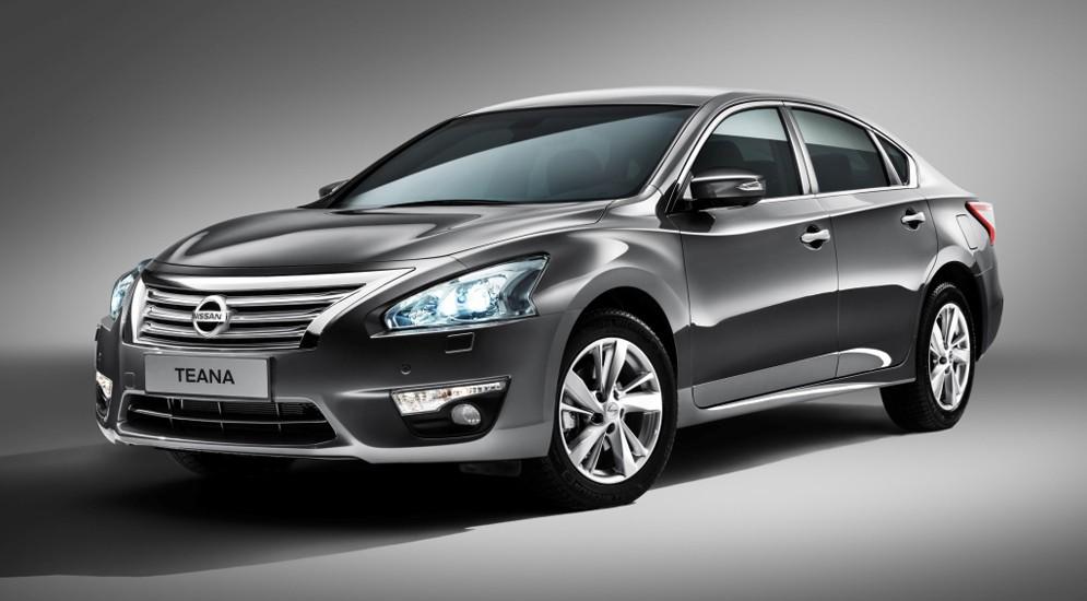 Модель Nissan Teana поднялась в цене из-за комплектаций