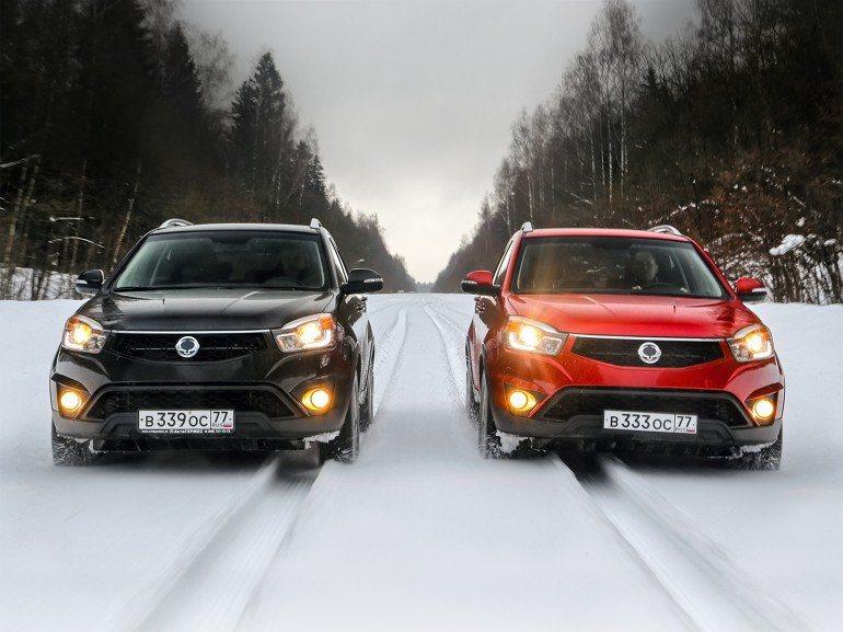 Автомобили SsangYong показывают лучшие продажи в России