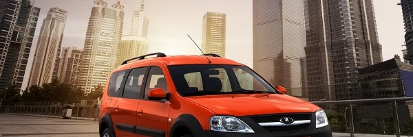 Lada Largus Cross оранжевая