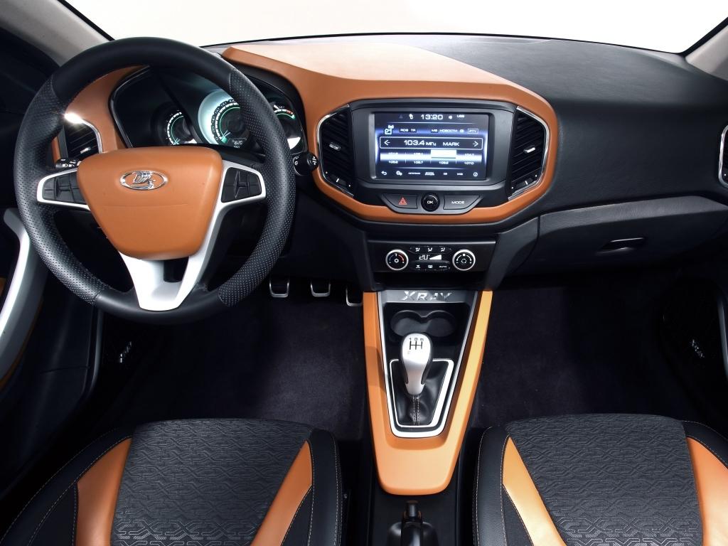 У кроссовер Lada XRay будет новый мультимедийный руль