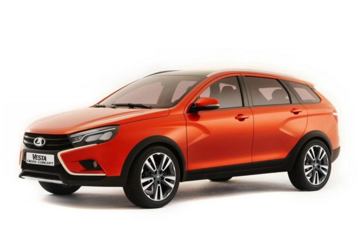 АвтоВАЗ представил серийную версию Lada Vesta Cross