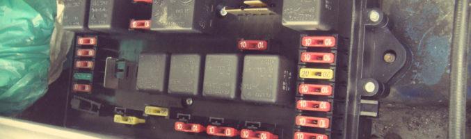 Блок предохранителя на ВАЗ 2114